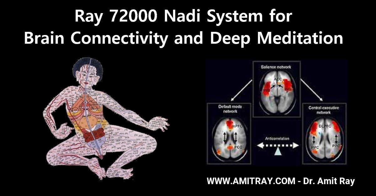 72000 nadis for Deep Meditation and Brain Sri Amit Ray Teachings