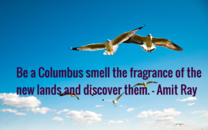 Be a Columbus - Innovation Quote