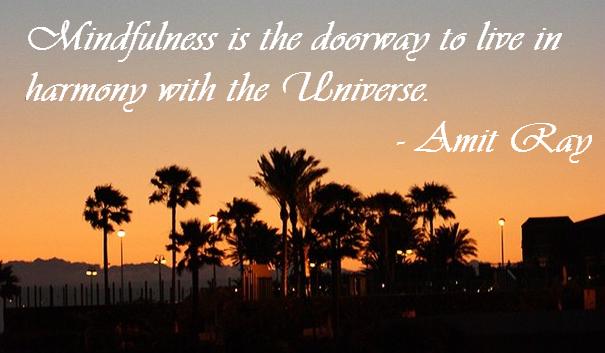 Harmony and Mindfulness