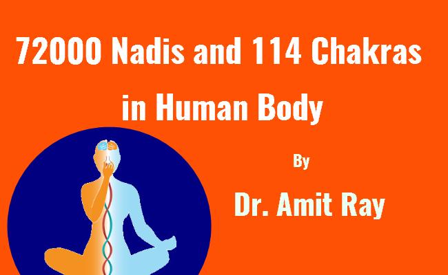 72000 Nadis and 114 Chakras in Human Body
