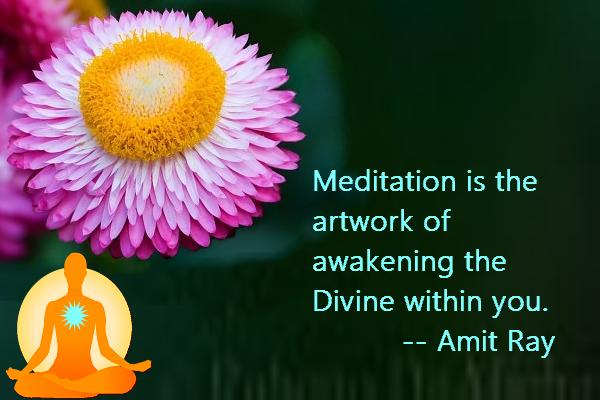 Meditation Awakening Divine Within You