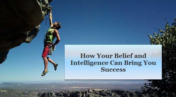 Beliefs Intelligence and Success