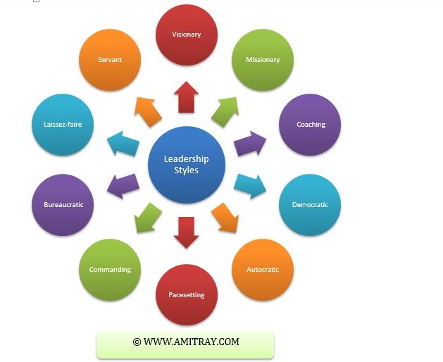 Top 10 Leadership Styles - Amit Ray