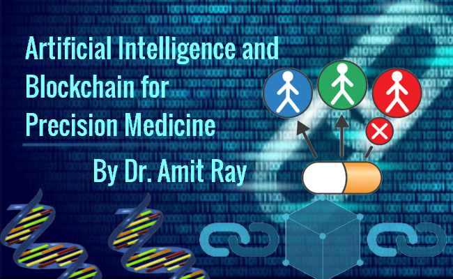 Artificial Intelligence and Blockchain for Precision Medicine