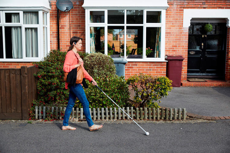 Artificial Intelligence to Help Blind People Walking
