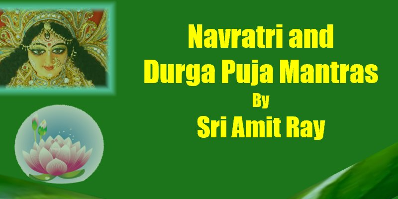 Navratri and Durga Puja Mantras