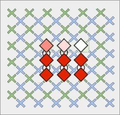 Qubit Connectivity and entangled qubits