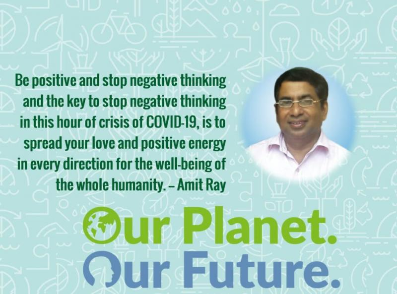 Be Positive Stop Negative Thinking Amit Ray Quotes