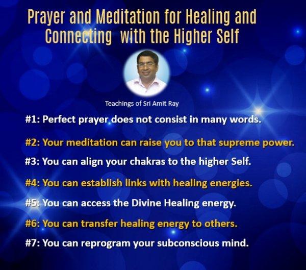 Prayer for Healing Energy