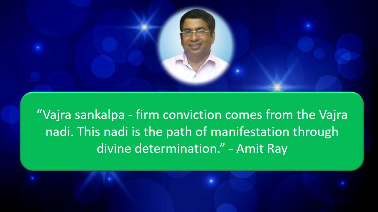 Vajra sankalpa and manifestation - Amit Ray