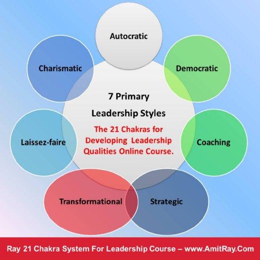 7 Primary Leadership Styles