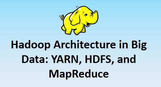 Hadoop Architecture Tutorial YARN HDFS