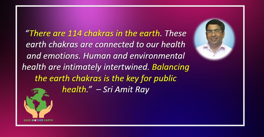 Balancing the Earth Chakras
